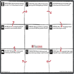 Flow Canvas Printable Template